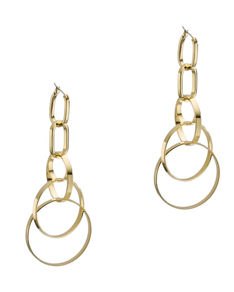 Multi-Ring Statement Earrings