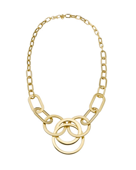 Multi-Ring Statement Necklace