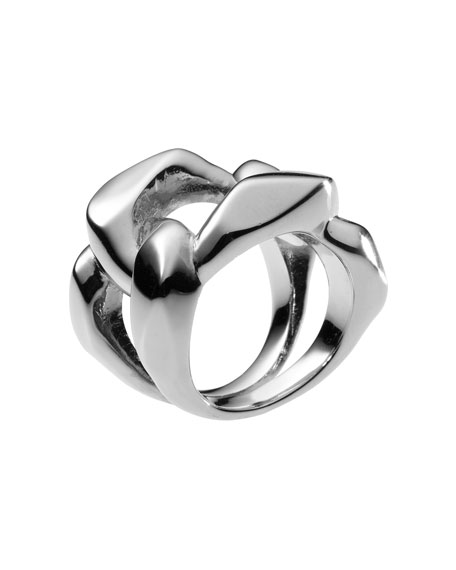 Chain Ring, Silver