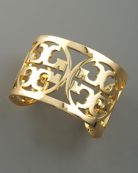 Logo Cuff, Gold