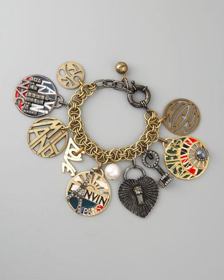Travel-Charm Bracelet