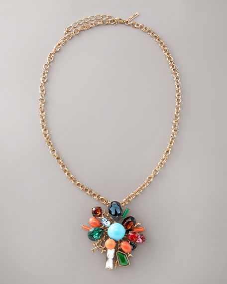 Starburst Brooch/Pendant Necklace