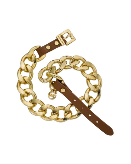 Double-Wrap Chain Bracelet