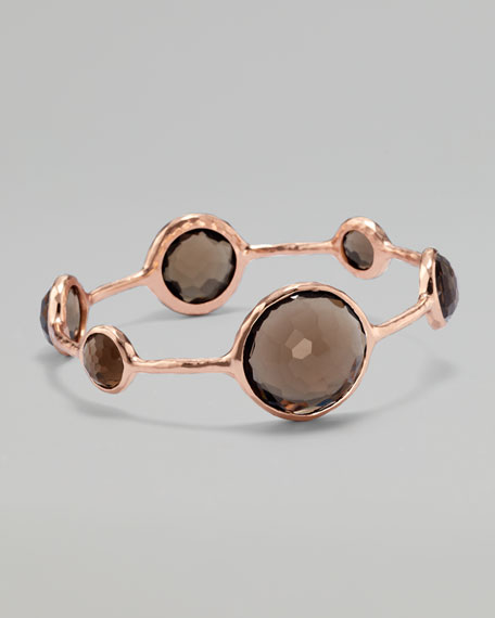 Six-Station Rose Gold Bangle