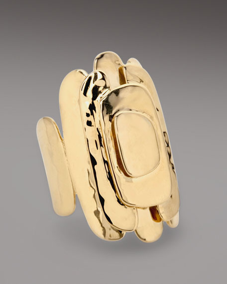 Stacked Gold Ring