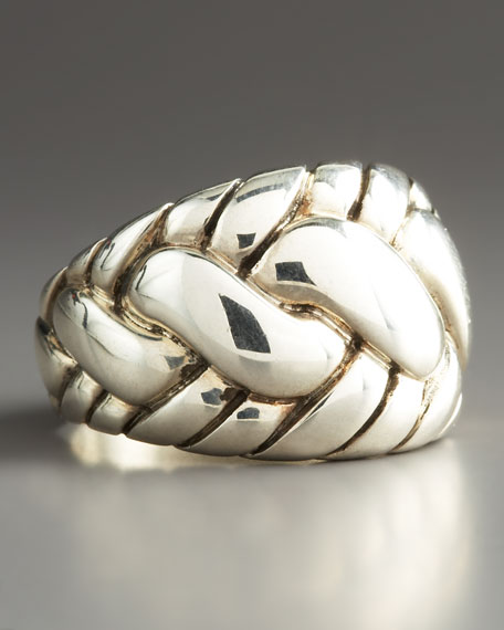 Classic Chain Dome Ring