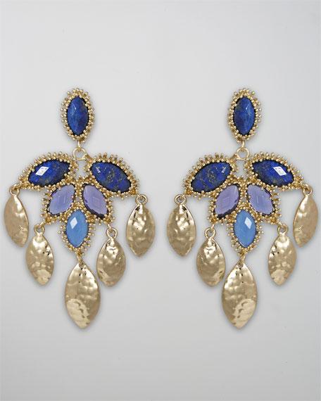 Nora Earrings, Macaw