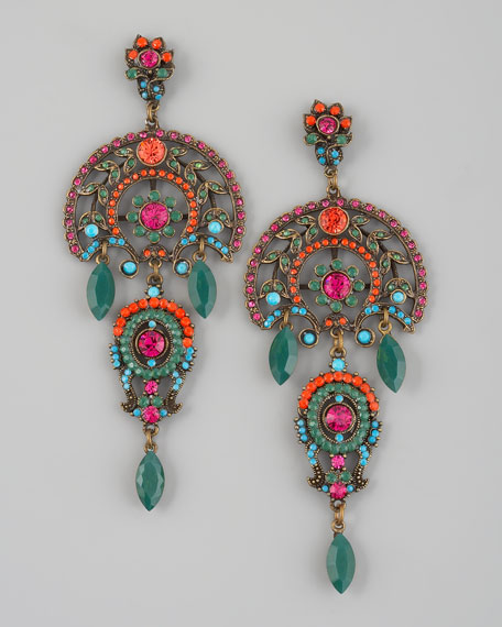 Multicolor Drop Earrings