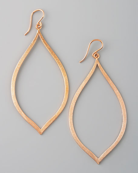 Always Beautiful Eye Earrings, Rose Gold