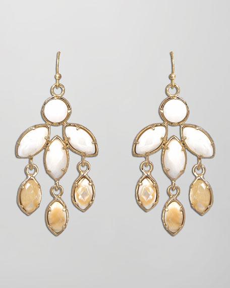 Tierney Earrings, Mother-of-Pearl