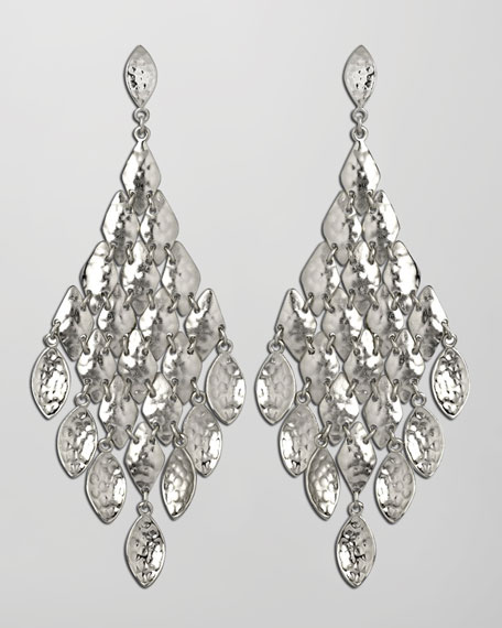 Nera Earrings, Rhodium