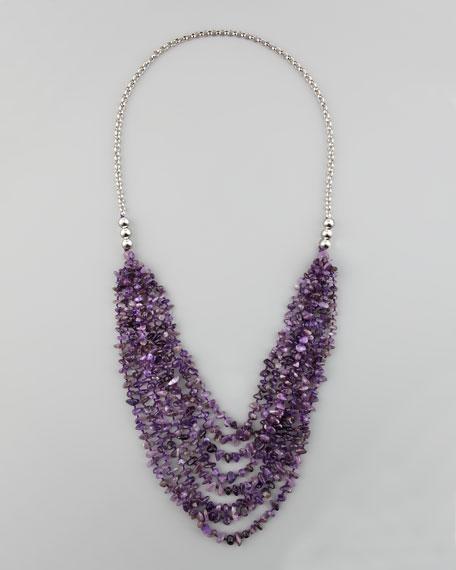 Long Multi-Strand Necklace