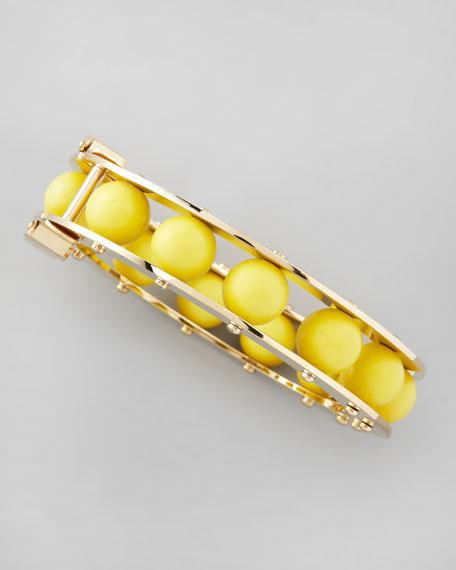 Round Slider Bracelet, Golden Sun