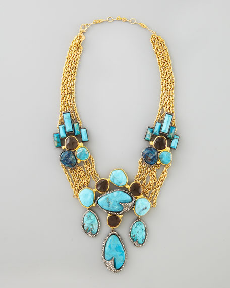 Cordova Antiqued Large Necklace
