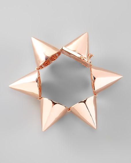 Extra-Large Cone Bracelet, Rose Gold
