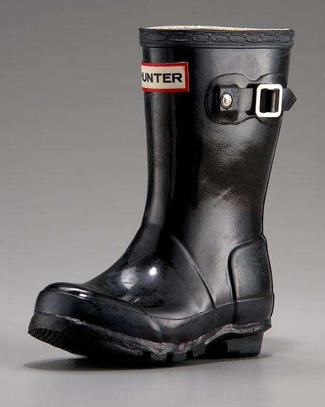 Original Young Gloss Rain Boot, Black