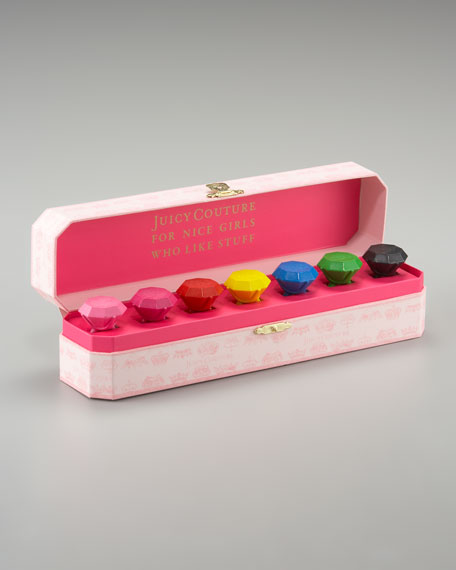 Jewel-Shaped Crayons, Box of Seven