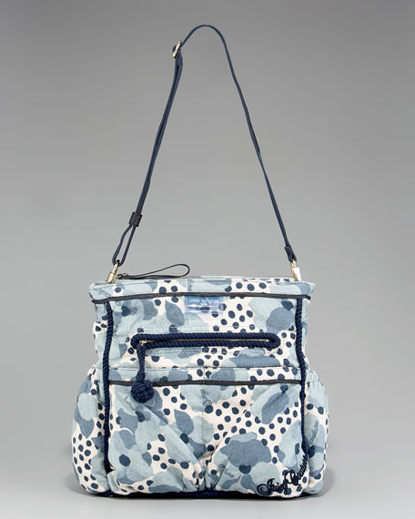 Printed Terry Stroller Bag