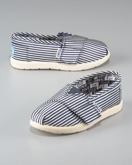 Children's Striped Slip-On Shoe, Sizes 2-11