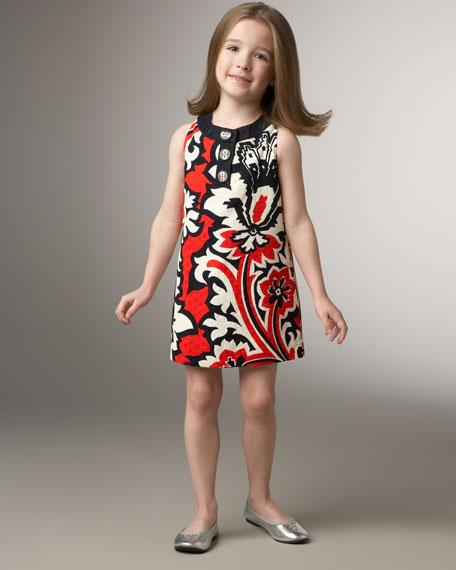 Eden Printed Pique Dress