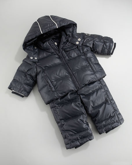 Armani Junior Puffer with Snow Suit