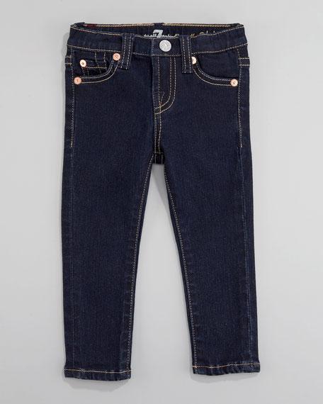 Rinse Denim Skinny Jeans