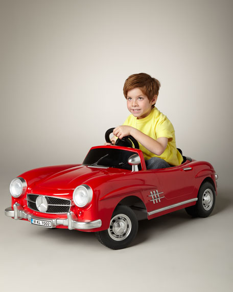 Ride on cars mercedes benz 300sl electric car for Mercedes benz kids car