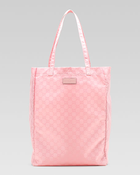 GG Brights Easy Tote Bag with Pouch, Medium Pink