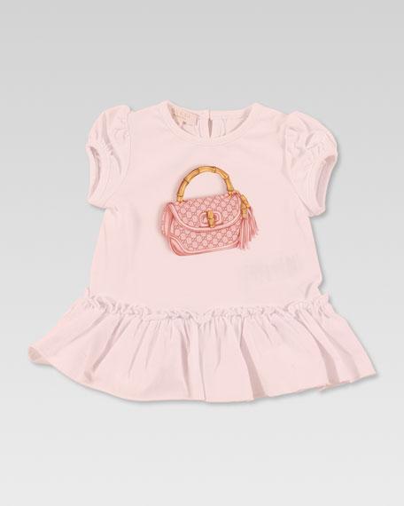 New Bamboo Bag-Print Jersey Dress