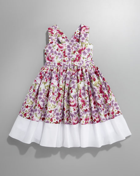 Flower-Print Dress, Infant