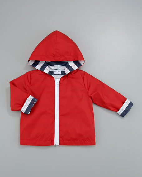 Berry Reversible Rain Slicker, Sizes 4-6X