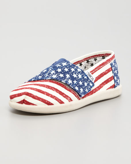 Stars and Striped Canvas Shoe, Tiny