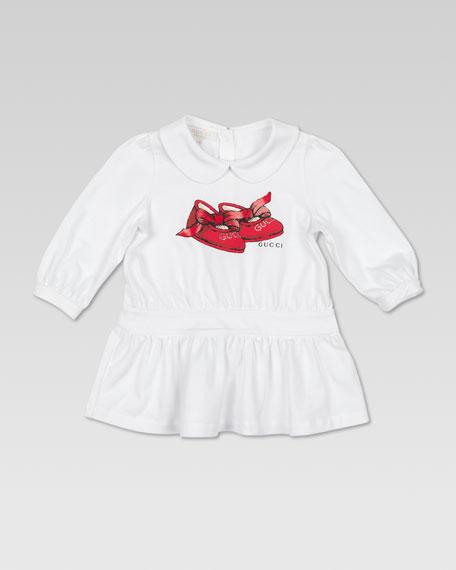 Baby Ballerina Print Dress