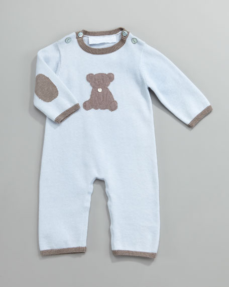 Celestin Teddy Bear Playsuit