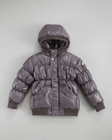 Puffy Coat, Vintage Black