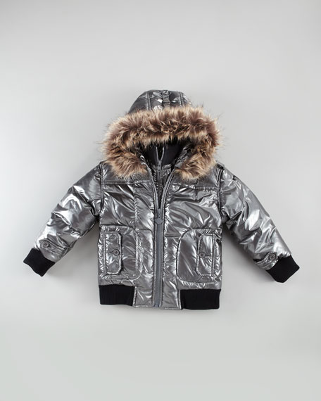 Faux-Fur Polar Jacket