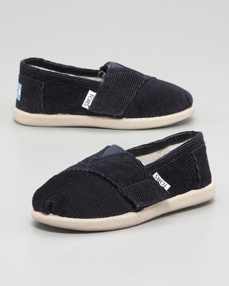 Corduroy Fleece-Lined Shoes, Tiny