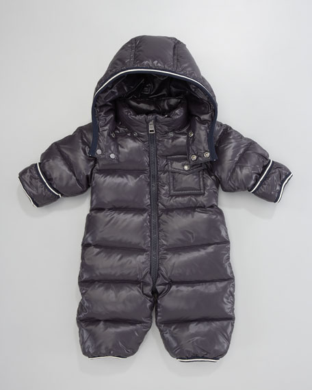 Tom Detachable Hood Snowsuit