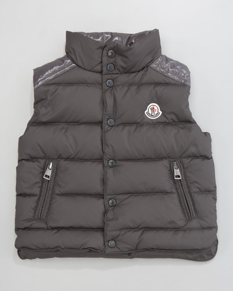 Cheval Quilted Vest, Sizes 2-3
