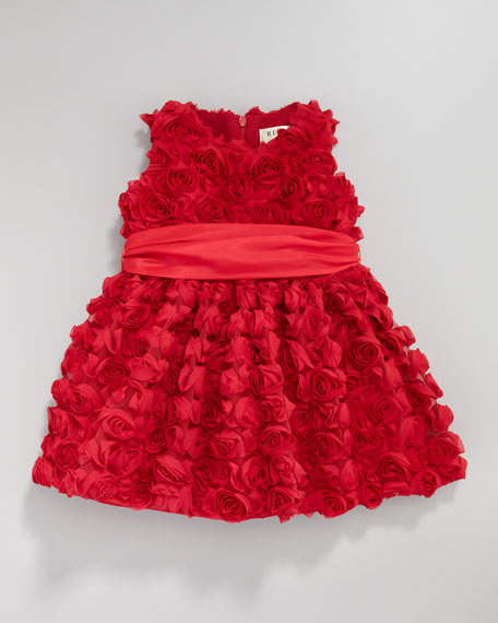 Cupcake Rosette Dress, 12-24 Months