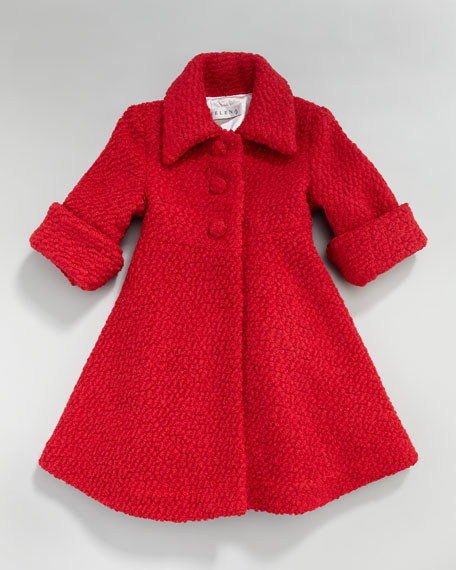 Boucle Dress Coat, 12-24 Months