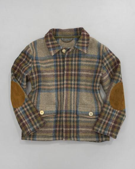 Plaid Barn Jacket