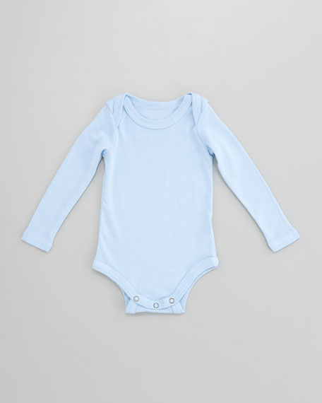 Snug-Fit Bodysuit, Sky