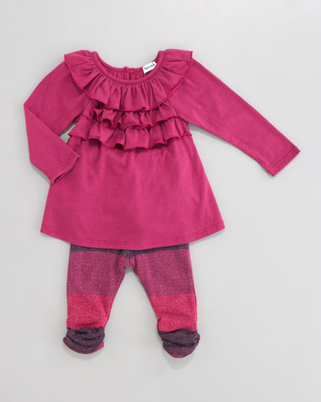 Tunic & Sparkle Leggings Set, 3-24 Months