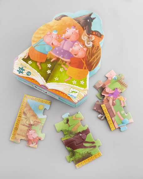 Three Little Pigs Puzzle