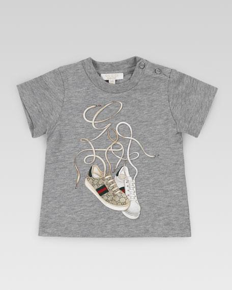 Gucci Ace Sneaker Print Tee