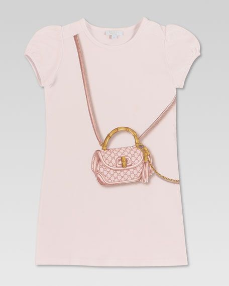 Bamboo Shoulder Bag Print Dress