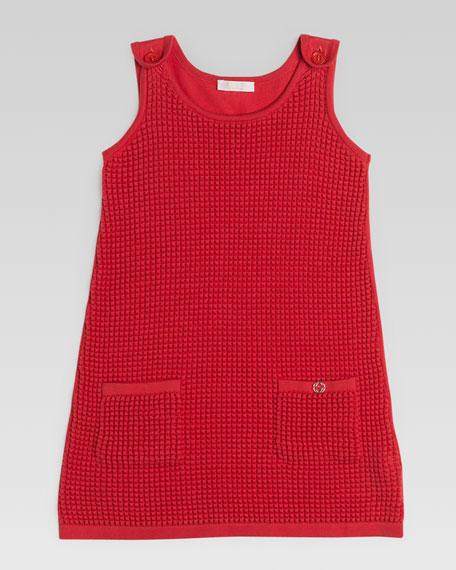 Fine Cotton Tank Dress, Watermelon