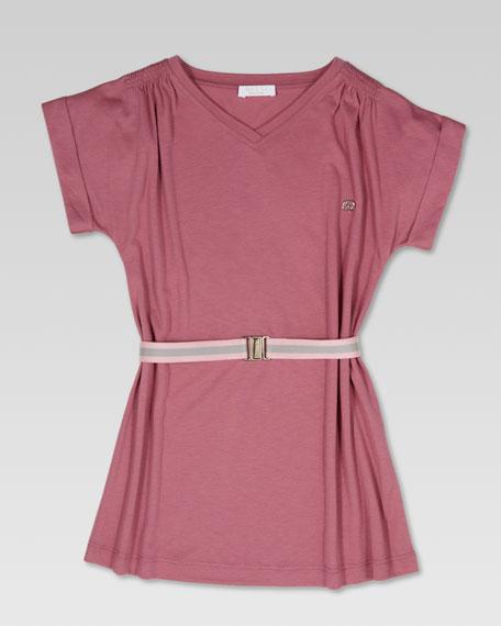 Summer Lightweight Dress, Pink