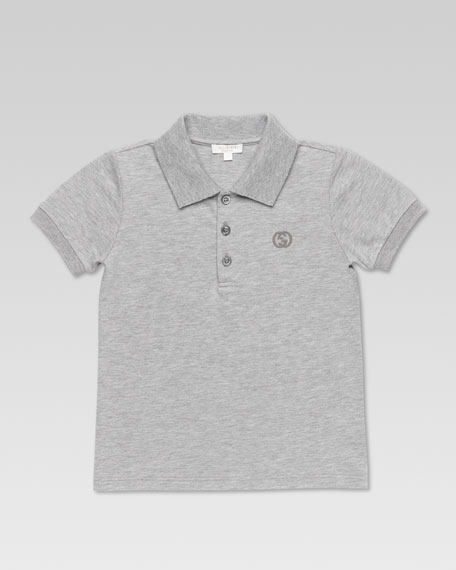 Polo Shirt, Gray